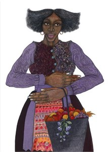 "Charles Bibbs Hand Signed and Numbered Limited Edition: ""Southern Girl"""