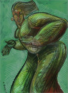 """Charles Bibbs Hand Signed and Numbered Limited Edition: """"Vibrations"""""""