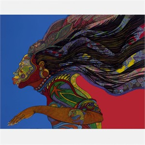 "Charles Bibbs Hand Signed and Numbered Limited Edition: ""Adorning Glory"""