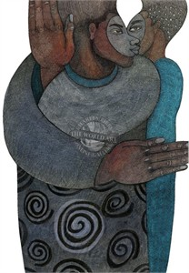 """Charles Bibbs Hand Signed and Numbered Limited Edition: """"Eye To Eye"""""""