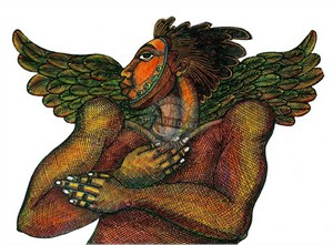 """Charles Bibbs Hand Signed and Numbered Limited Edition: """"Man Angel 2"""""""