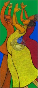 "Charles Bibbs Hand Signed and Numbered Limited Edition: ""Rejoice"""