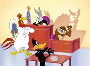 "Juan Ortiz Limited Edition Animation Art:""Legal Briefs"""