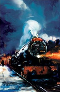 "Jim Salvati Limited Edition Fine Art Giclee Prints on Paper and Canvas :""Hogwarts Express"""