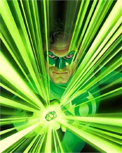 "Alex Ross Limited Edition Fine Art Giclee Print on Paper and Canvas:""Mythology: Green Lantern"""