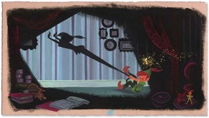 "Lorelay Bove Signed and Numbered Giclée on Paper: ""Peter's Shadow"""