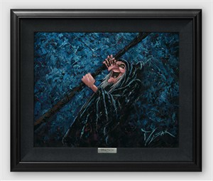 "Disney Framed Limited Edition Canvas Giclee:""The Darkest Magic"" by Trevor Mezak"