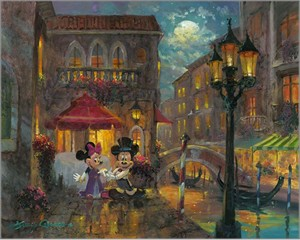 "James Coleman Handsigned and Numbered Limited Edition Giclee on Canvas:""Evening Anniversary"""