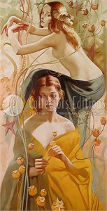 "Valueva Limited Edition Giclee on Canvas :""Ethereal Dream """
