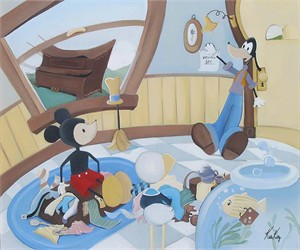 "Katie Kelly Hand Signed and Numberd Limited Edition Giclee on Canvas:"" Moving Day"""