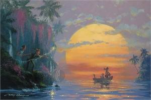 "James Coleman Handsigned & Numbered Limited Edition Canvas:""Hook Discovered"""