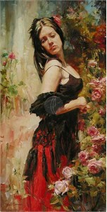 "Garmash Limited Edition Giclee on Canvas :""Breaking Free"""