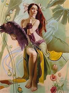 "Valueva Limited Edition Giclee on Canvas :""Sea Goddess"""