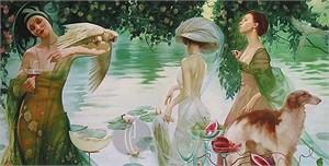 "Valueva Limited Edition Giclee on Canvas:""Paradise """