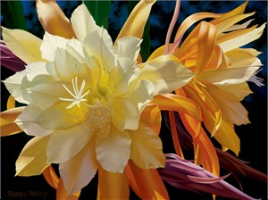 """Brian Davis Handsigned and Numbered Limited Edition Giclee on Canvas:"""" Resplendent Queen """""""