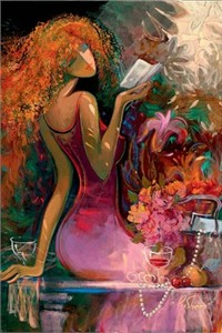 "Irene Sheri Artist Signed Limited Edition  Embellished  Giclee on Hand-Textured Canvas :""Spring Awakening"""