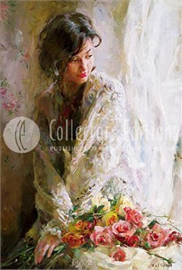 "Garmash Limited Edition Embellished Giclee on Canvas :""Morning Beauty """