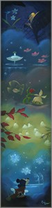 "Rob Kaz Signed and Numbered Giclée on Canvas:""Spectacle of the Seasons"""
