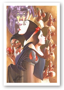 """Alex Ross Artist Signed and Numbered Limted Edition Canvas Giclee:""""Once There Was a Princess"""""""