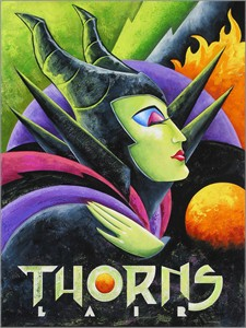 "Mike Kungl  Artist Signed and Numbered Limited Edition Canvas Giclee:""Thorns Lair"""