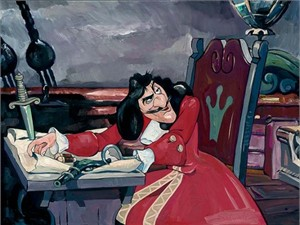 """Jim Salvati Handsigned and Numbered Limited Edition Giclee on Canvas:""""The Captain's Quarters"""""""