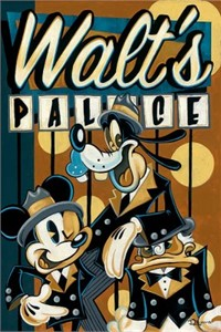 """Tim Rogerson Limited Edition Giclee on Canvas: """"Walt's Palace"""""""