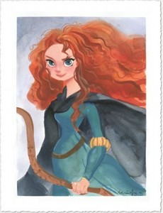 "Victoria Ying Signed and Numbered Giclée on Paper: ""Merida"""