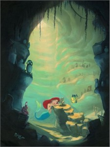 """Rob Kaz Signed and Numbered Hand-Embellished Giclée on Canvas: """"Treasure Trove"""""""