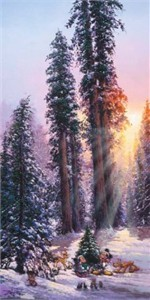 "Rodel Gonzalez Signed and Numbered Gicl�e on Canvas: ""The Perfect Tree"""