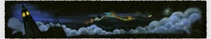 """Lorelay Bove Signed and Numbered Giclée on Paper: """"Over the Clouds"""""""
