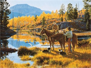 "Tim Cox Hand Signed and Numbered Limited Edition AP Print:""Autumn Splendor"""