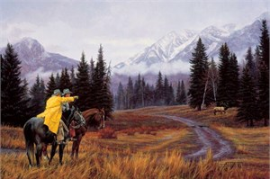 "Tim Cox Hand Signed and Numbered Limited Edition Artist Proof Print: ""Rocky Mountain Majesty"""