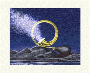 """Fanny Brennan Limited Edition Hand-Crafted Lithograph: """" Stardust """""""