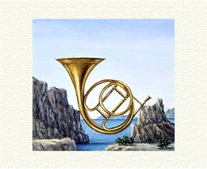 """Fanny Brennan Limited Edition Hand-Crafted Lithograph: """" Big Horn """""""