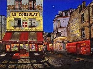"""Liudmila Kondakova Limited Edition Serigraph on Paper: """" Le Consulat """""""