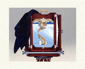 """Fanny Brennan Limited Edition Hand-Crafted Lithograph: """" Deardorff """""""