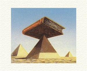 """Fanny Brennan Limited Edition Hand-Crafted Lithograph: """" Pyramid """""""