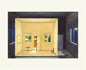 "Fanny Brennan Limited Edition Hand-Crafted Lithograph: "" Day Room """