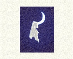 "Fanny Brennan Limited Edition Hand-Crafted Lithograph: "" Moon Catch """