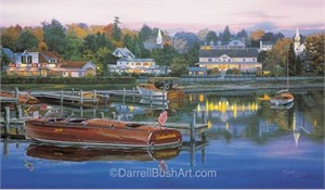 """Darrell Bush Hand Signed and Numbered Limited Edition Giclee:""""The Legend Lives On"""""""