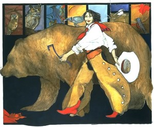 """Donna Howell-Sickles Hand Signed and Numbered Limited Edition Giclee :"""" Legends """""""
