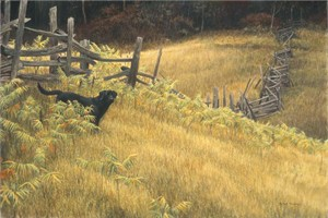 "Robert Bateman Handsigned and Numbered Limited Edition Canvas Giclee:""SmallWood"""