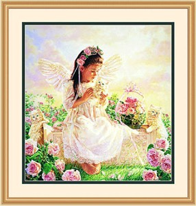 "Framed Art:""Tender Loving Care by Jean Monti"""