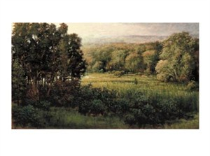 "Thomas Monaghan Signed and Numbered Limited Edition Giclée on Somerset Velvet Paper:""In The Meadow"""