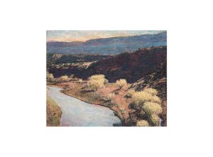"Ken Elliott Signed and Numbered Limited Edition Giclée on Somerset Velvet Paper:""Rio Chama"""