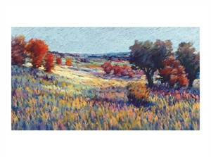 "Sandi Dahl Signed and Numbered Limited Edition Giclée on Somerset Velvet Paper:""Ripening Field"""