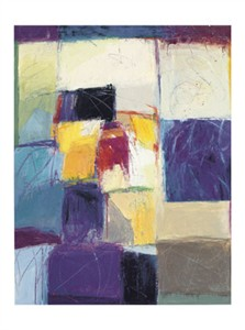 "Carolyn Cole Signed and Numbered Limited Edition Giclée on Somerset Velvet Paper:""Untitlted Abstract #05"""