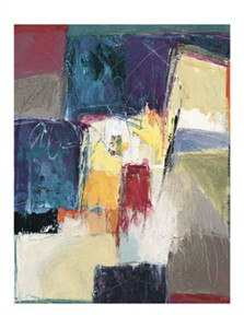 "Carolyn Cole Signed and Numbered Limited Edition Giclée on Somerset Velvet Paper:""Untitled Abstract #06"""