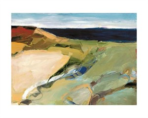 """Barbara Rainforth Signed and Numbered Limited Edition Giclée on Somerset Velvet Paper:""""Aerial HorizonStudy 19-2"""""""