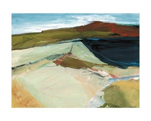 "Barbara Rainforth Signed and Numbered Limited Edition Giclée on Somerset Velvet Paper:""Aerial Horizon Study35-2"""